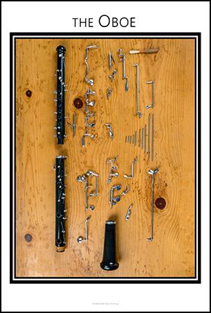Oboe Anatomy Chart
