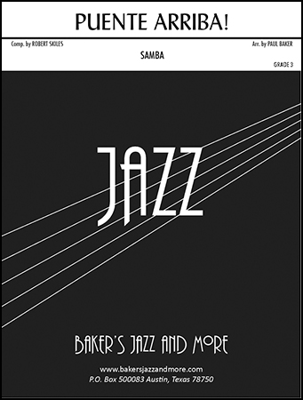 Puente Arriba! jazz sheet music cover