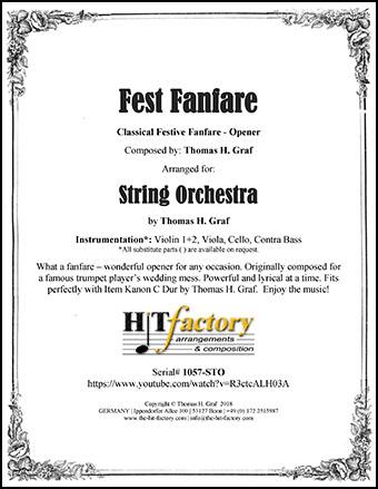 Fest Fanfare - String Orchestra