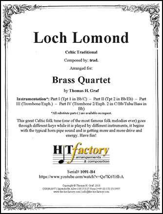 Loch Lomond - Brass Quartet