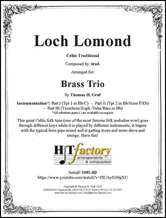 Loch Lomond - Brass Trio