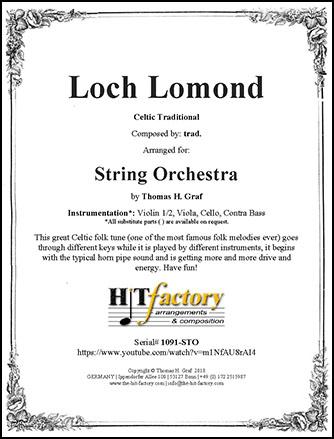 Loch Lomond - String Orchestra