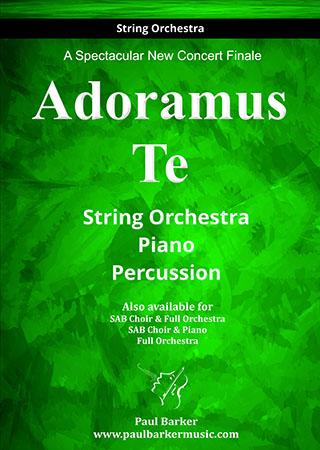 Adoramus Te myscore sheet music cover