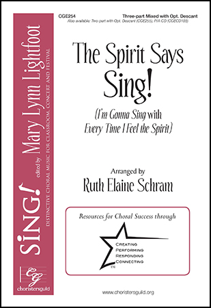The Spirit Says Sing!