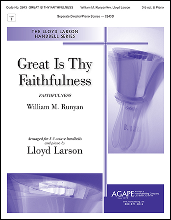 Great is Thy Faithfulness handbell sheet music cover