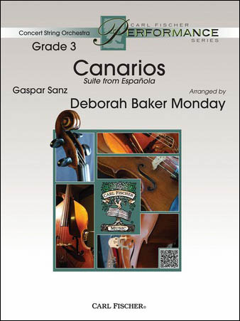 Canarios orchestra sheet music cover