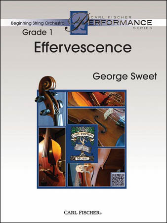 Effervescence orchestra sheet music cover
