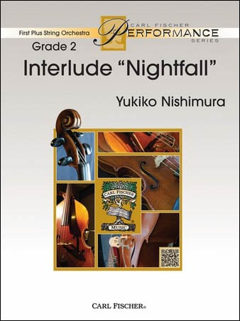 Interlude Nightfall midwest sheet music cover