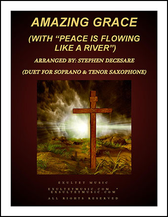 Amazing Grace (with Peace is Flowing) Instrumental Duet Thumbnail