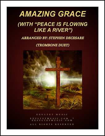 Amazing Grace (with Peace is Flowing) Instrumental Duet