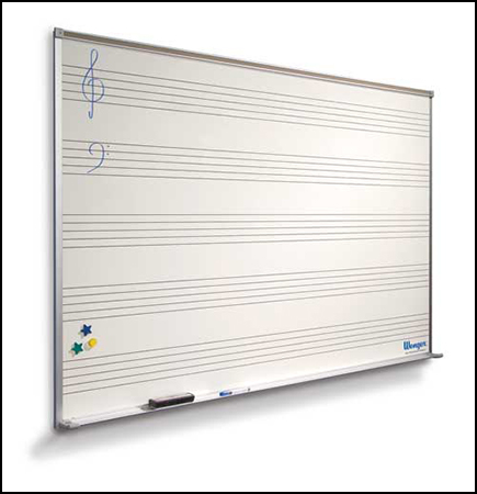 Music Notation Marker Board Cover