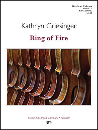 Ring of Fire orchestra sheet music cover