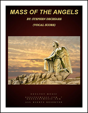 Mass of the Angels (Choir/Vocal Score)