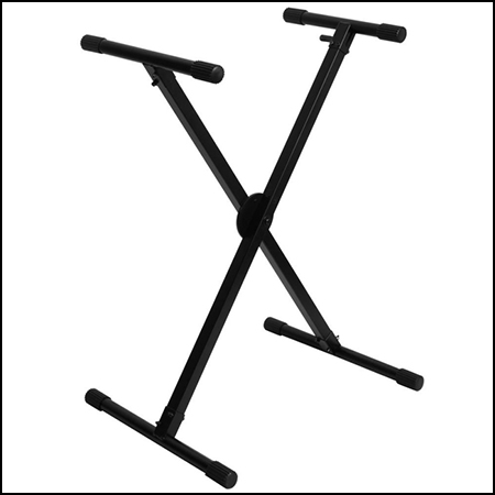 Lok-Tight Pro Single-X ERGO-LOK Keyboard Stand