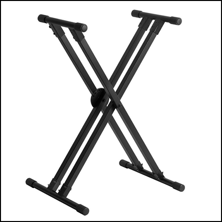 Lok-Tight Pro Double-X ERGO-LOK Keyboard Stand