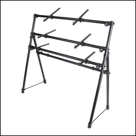3-Tier A-Frame Keyboard Stand