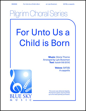 For Unto Us a Child Is Born Thumbnail