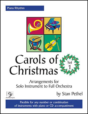 Carols of Christmas, Set 1 Cover
