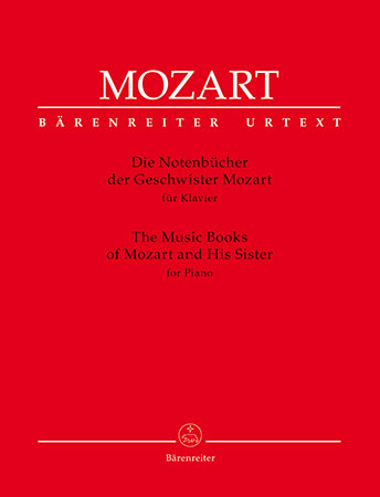 The Music Books of Mozart and His Sister for Piano