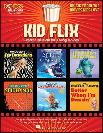 Kid Flix classroom sheet music cover