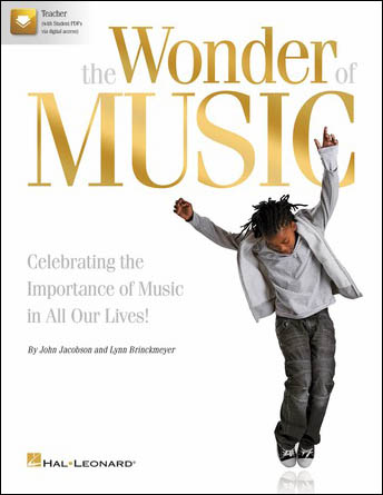 The Wonder of Music classroom sheet music cover