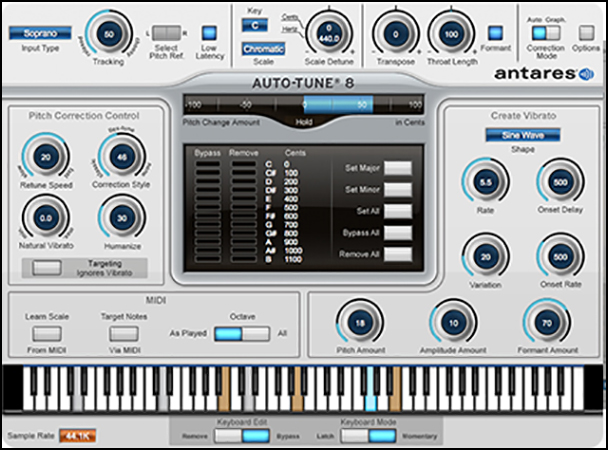 Antares Auto-Tune Vocal Studio 8 Plus AVOX 4