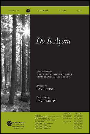 Do It Again church choir sheet music cover