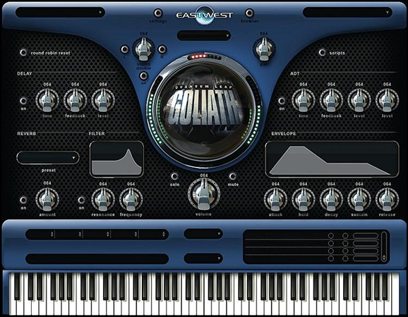 Goliath Virtual Instrument