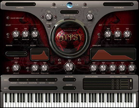 Gypsy Style Instrument Software
