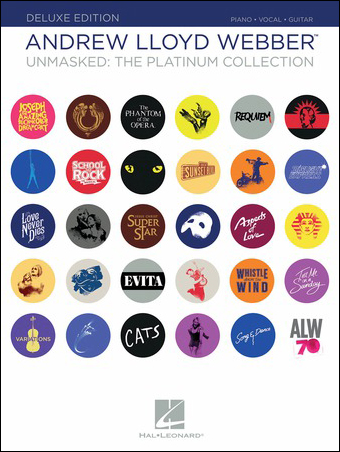 Andrew Lloyd Webber Unmasked: The Platinum Collection library edition cover