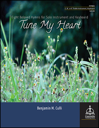 Tune My Heart: Eight Beloved Hymns woodwind sheet music cover