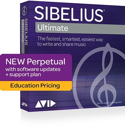 Sibelius Ultimate Educational Cover