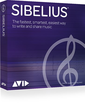 Sibelius Perpetual Licence Boxed Version