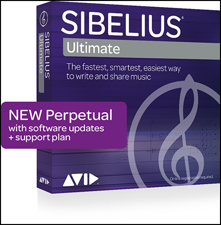 Sibelius: Ultimate Standalone Perpetual Multiseat Licenses - Educational
