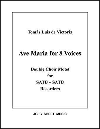 Ave Maria a 8 voce