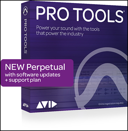 Pro Tools Perpetual License Boxed Retail Version