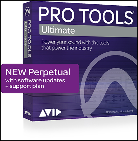 Pro Tools Ultimate Perpetual License Boxed Retail Version