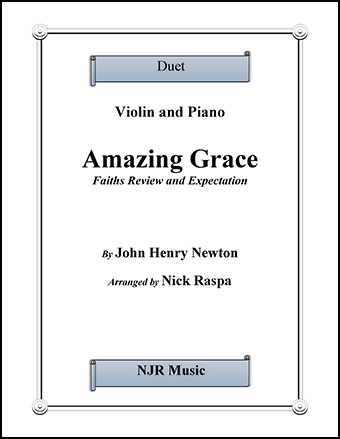 Amazing Grace - Duet - Violin & Piano