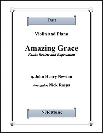 Amazing Grace - Duet - Violin & Piano Thumbnail