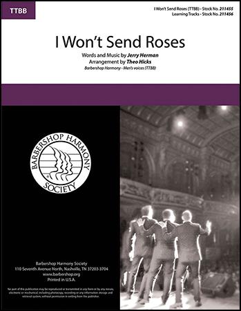 I Won't Send Roses