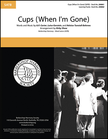 Cups (When I'm Gone)
