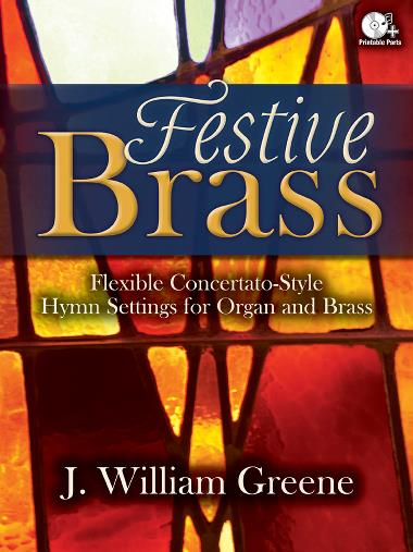 Festive Brass brass sheet music cover
