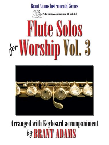 Flute Solos for Worship, Vol. 3 woodwind sheet music cover
