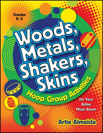Woods Metals Shakers Skins classroom sheet music cover