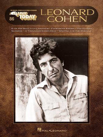 EZ Play Today Vol. 86 Leonard Cohen