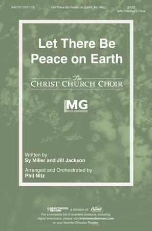 Let There Be Peace on Earth (SATB ) by Phil | J.W. Pepper Sheet Music