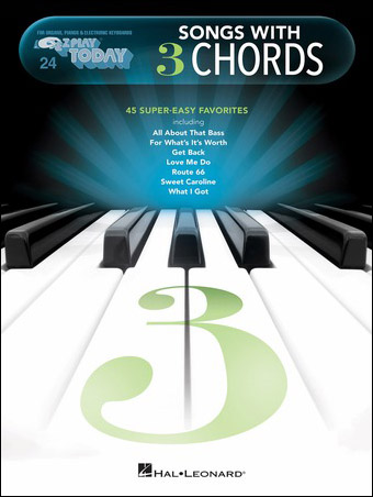 Ez Play Today Vol 20 Songs With 3 Chords Jw Pepper Sheet Music