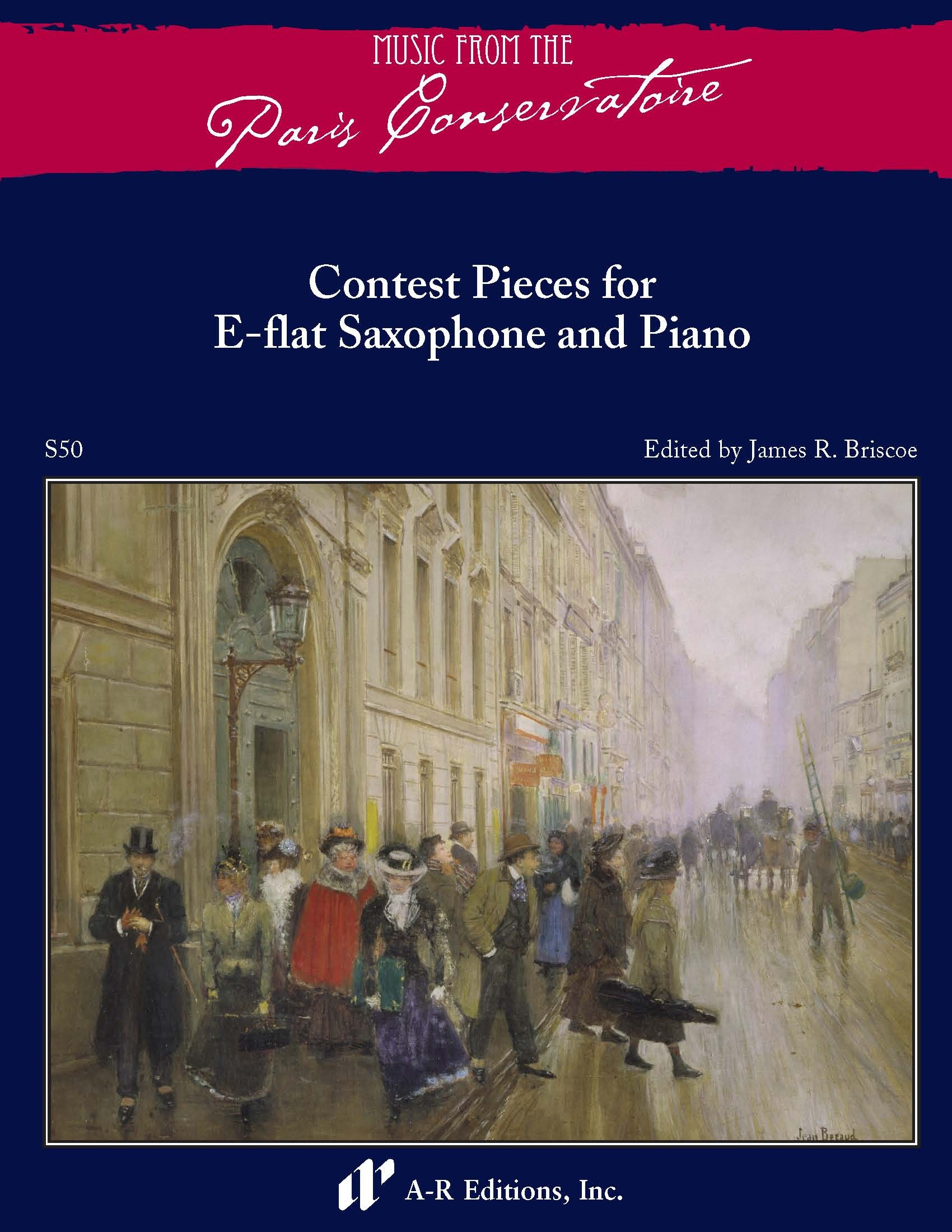 Contest Solos for E-flat Saxophone and Piano