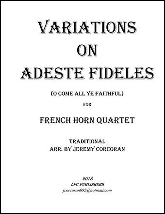 Variations on Adeste Fideles