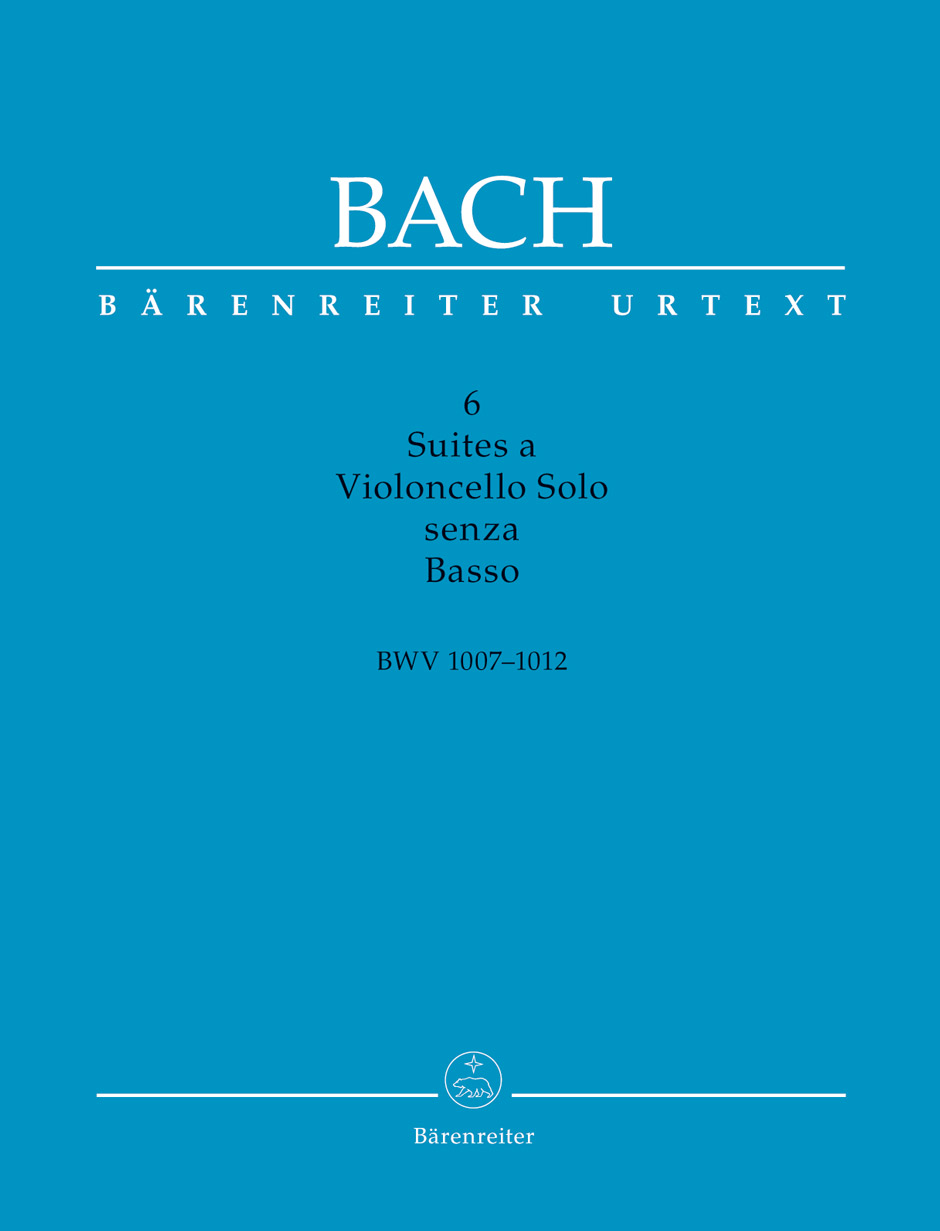 Six Suite for Cello without Basso, BWV 1007-1012